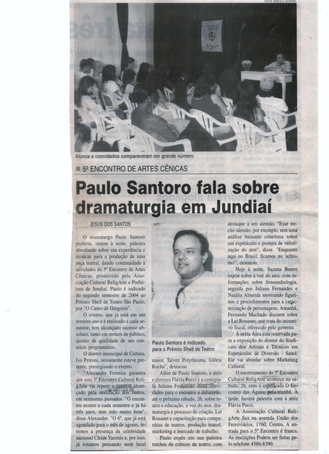 Palestra em Jundiaí