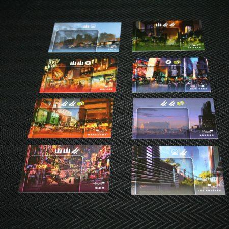 As cartas de cidades. Cortesia do blog Turno Extra.